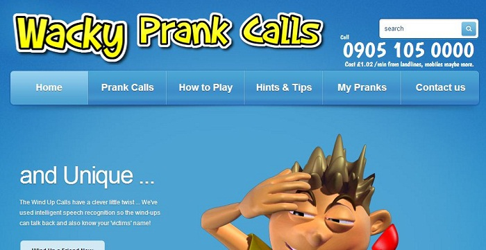 prank call voice