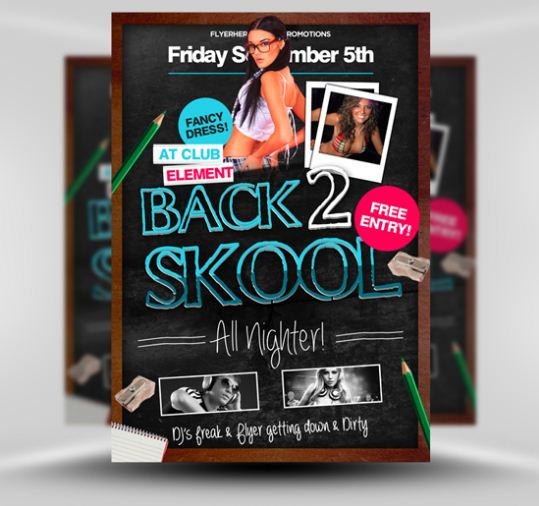 free psd flyer templates5
