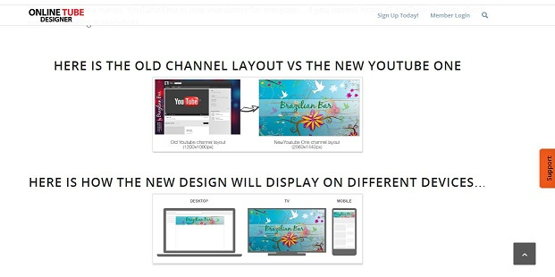 Youtube channel art creator online tube designers