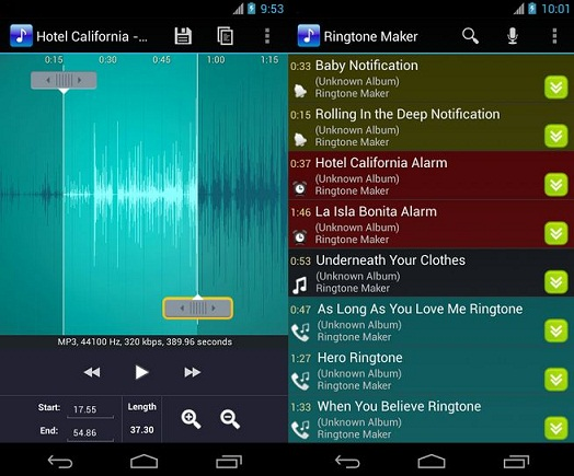 best free ringtone app for android