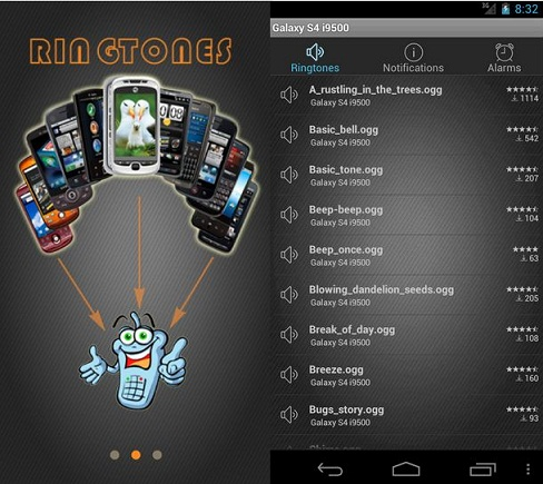 free android ringtones app
