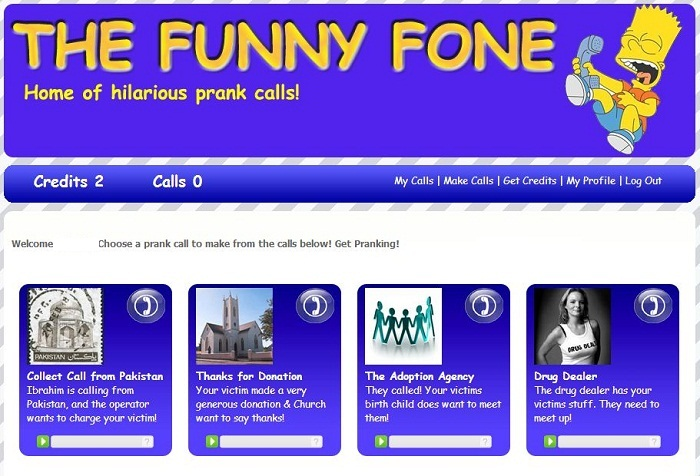 sites like prankdial
