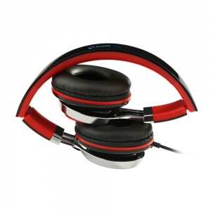 ECOOPRO Lightweight Portable Adjustable Over Ear Stereo Earphone Headphones Headset