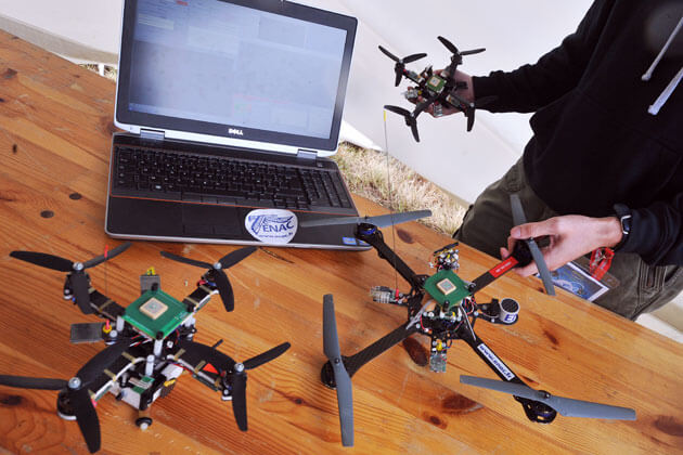 diy drones in focus