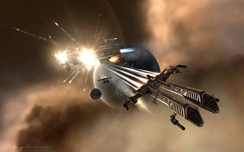 best mmo games - eve online