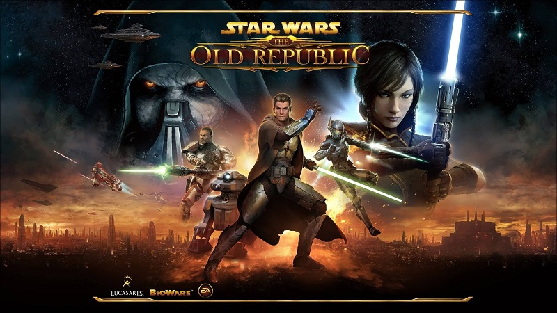 best mmo games - star wars old republic