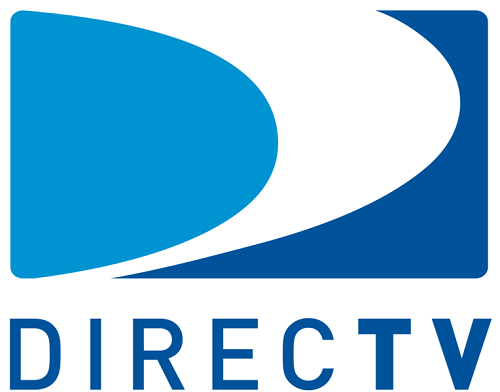 directv logo blue and white