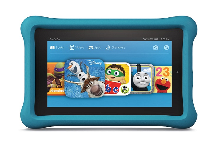 Fire Kids Edition, one of the best tablets for toddlers