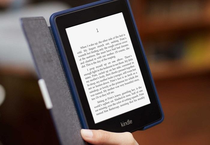 Kindle Voyage e-book reader