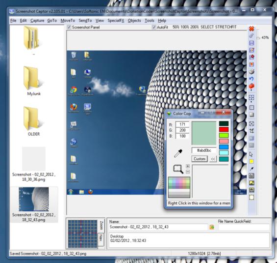 Screenshot Captor, one of the best screen capture software