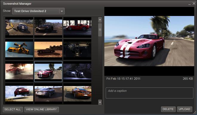 Game screenshot using Steam