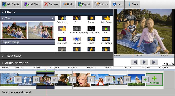 PhotoStage Slideshow screenshot