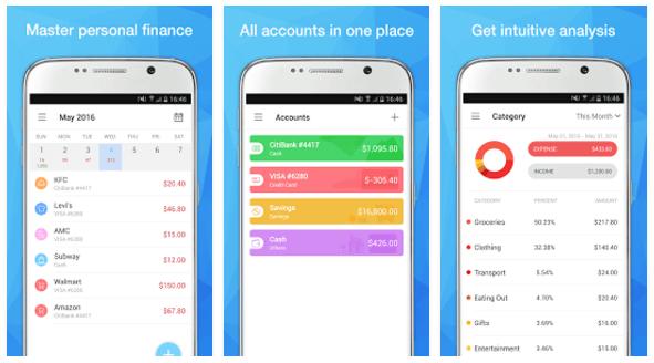 Pocket Expense screenshot