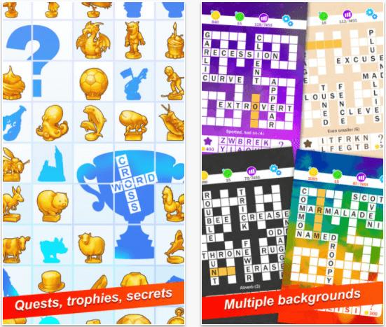 World's Biggest Crossword, one of the best best crossword app for iPad