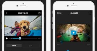 Splice video editing app for iPad