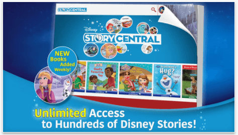 Disney Story Central, one of the best iPad apps for toddlers