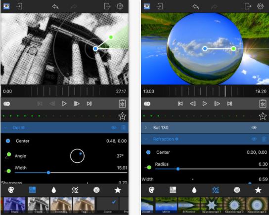 LumaFX app for iPad