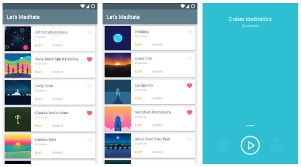 Let's Meditate app