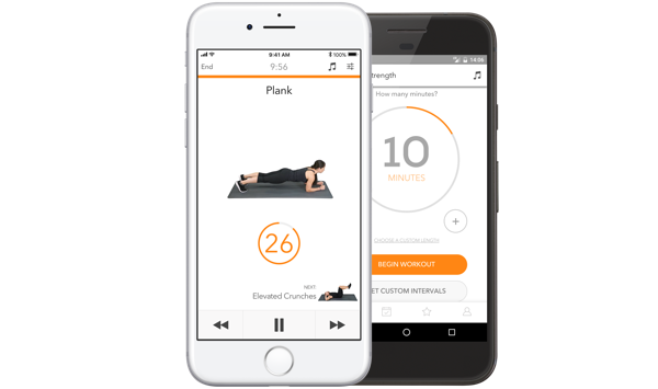 Sworkit, one of the best workout apps