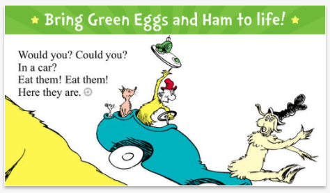 Green Eggs and Ham By Oceanhouse Media