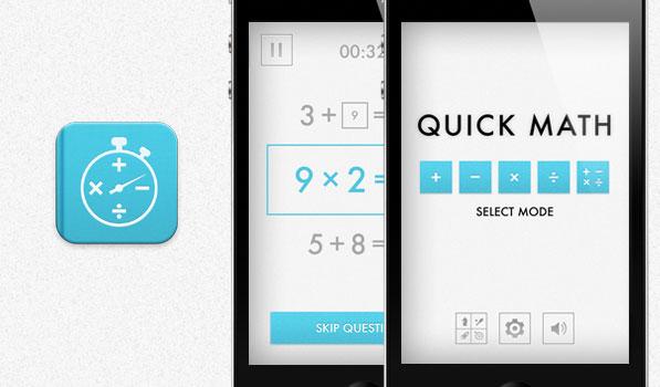 Quick Math app