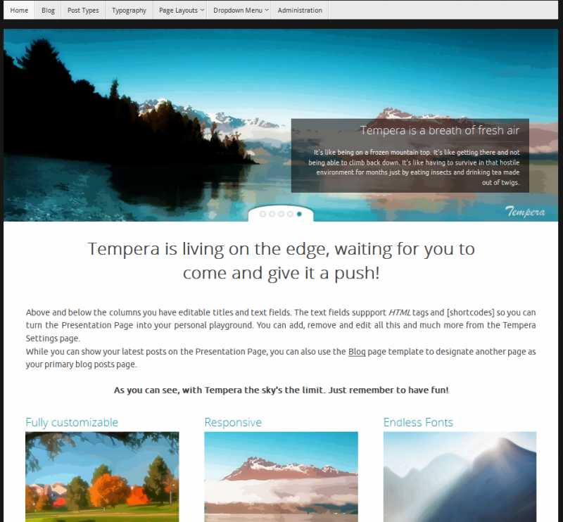 free responsive wordpress themes for bloggers