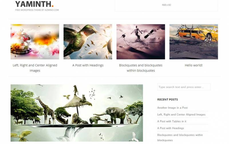Free WordPress Themes Photography