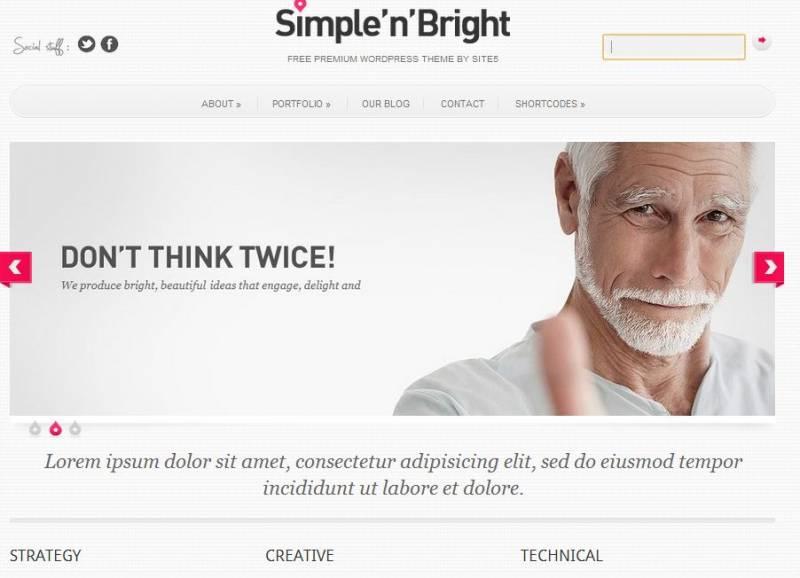 Free WordPress Themes Photography