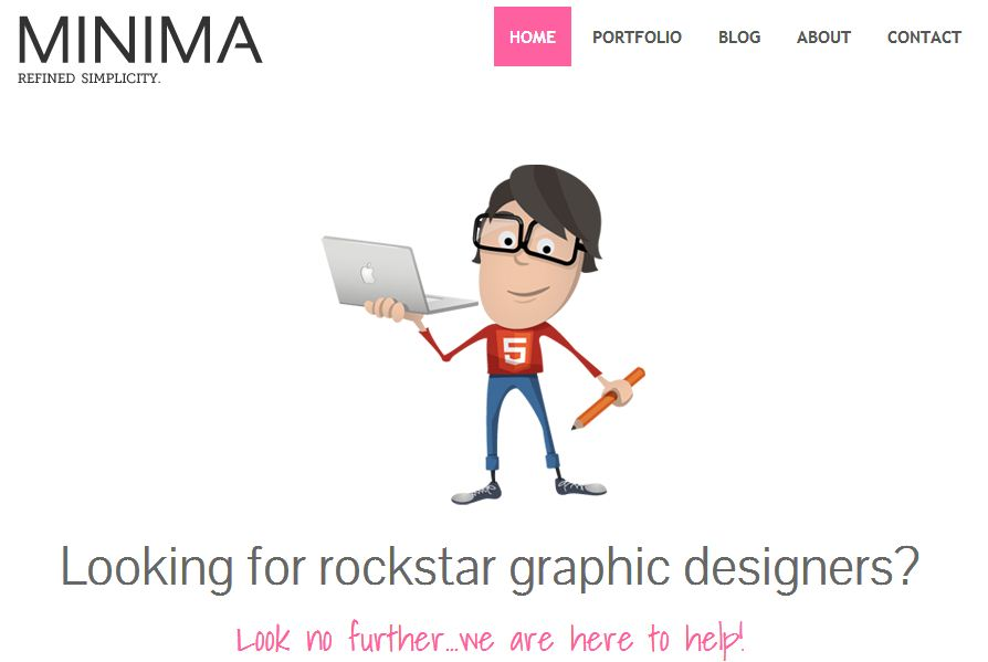 free responsive html5 templates11