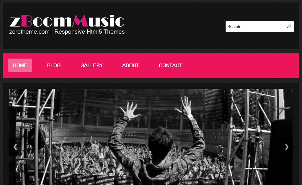 free responsive html5 templates15