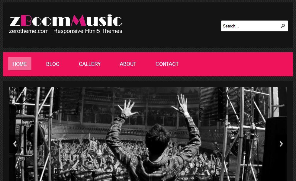 free responsive html5 templates15