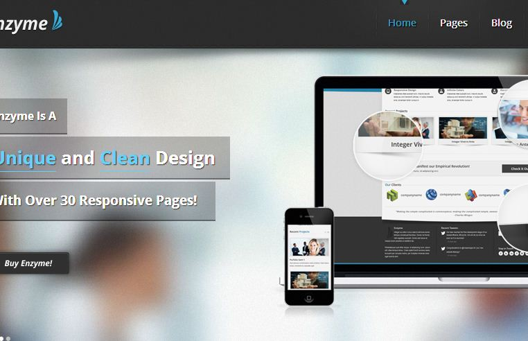 free responsive html5 templates2