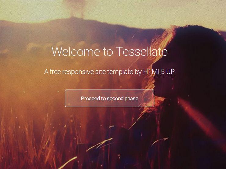 free responsive html5 templates3