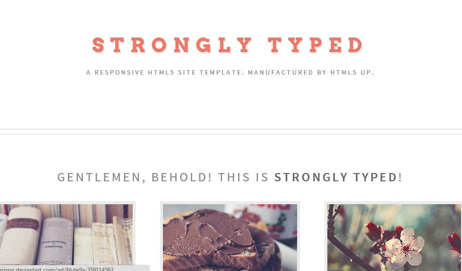 free responsive html5 templates4