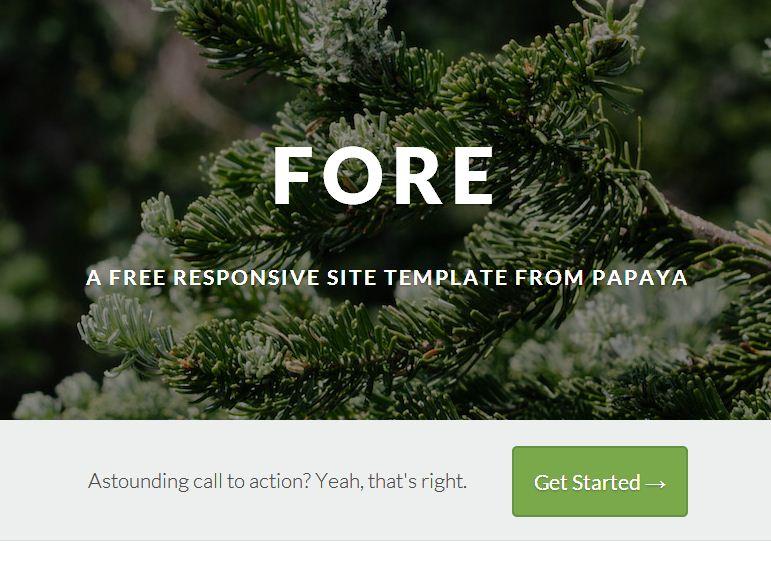 free responsive html5 templates7