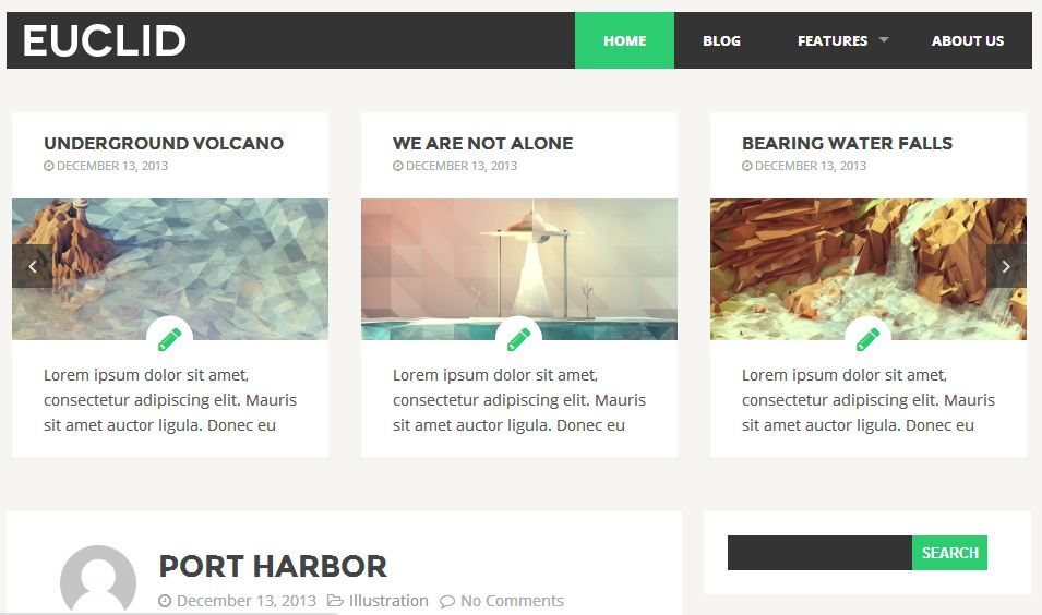 free responsive html5 templates9