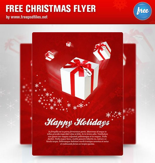 free psd flyer templates23