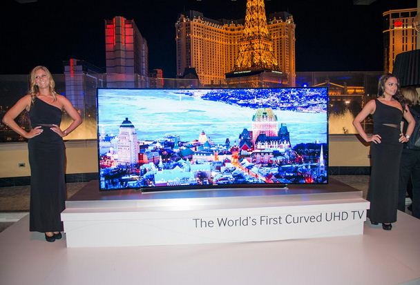 worlds biggest tv