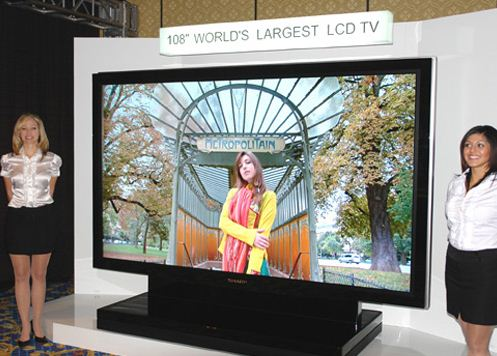 worlds largest tv