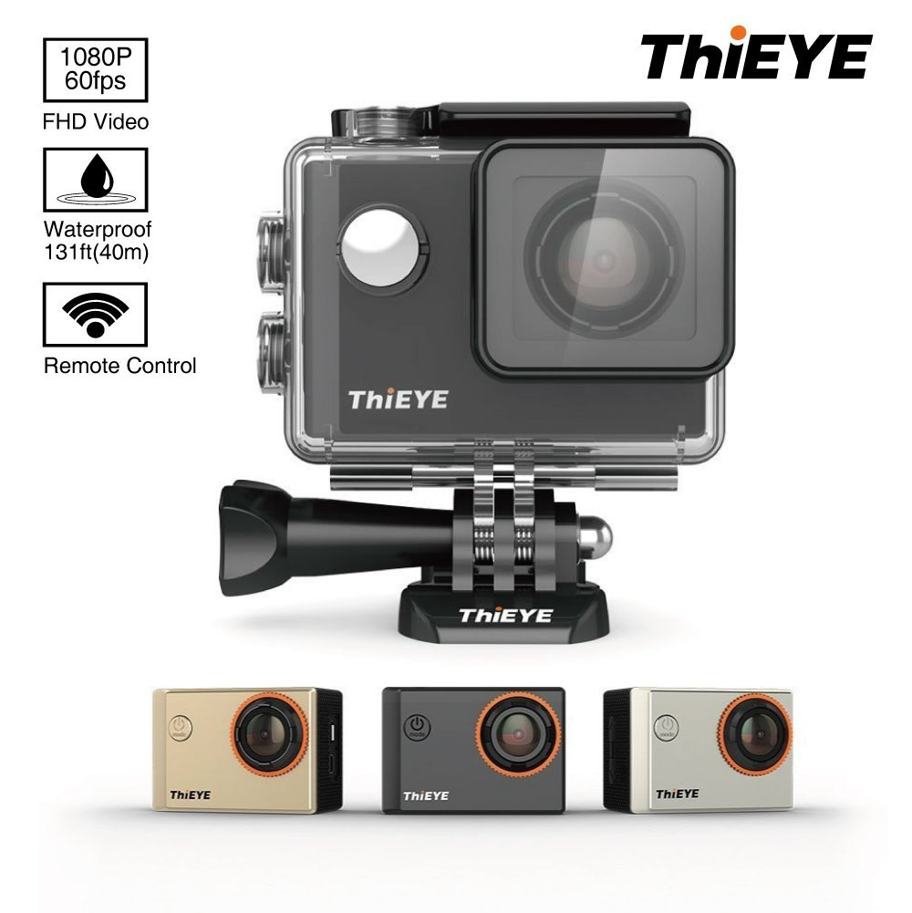 ThiEYE i60 WIFI 1080P 60fps Sports Camera
