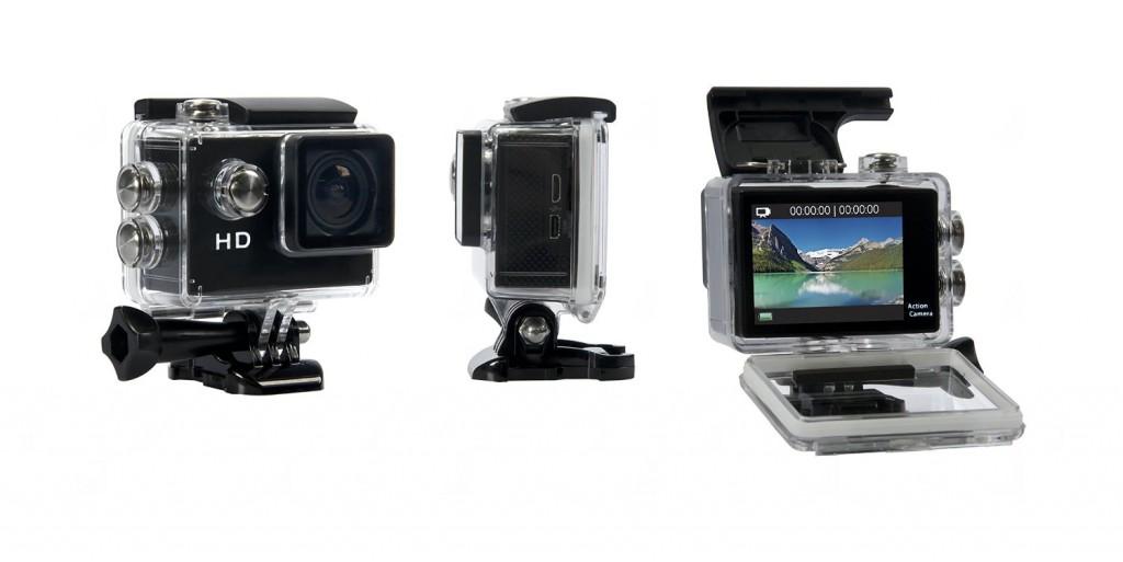 ASX ActionPro Sports Camera - HD Waterproof Shockproof Sports Camera