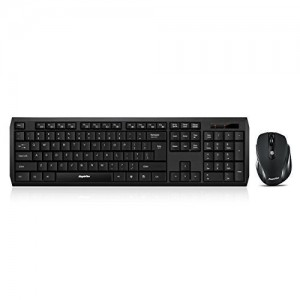 EagleTec K104  KS04 2.4 GHz Wireless Combo Keyboard And Mouse