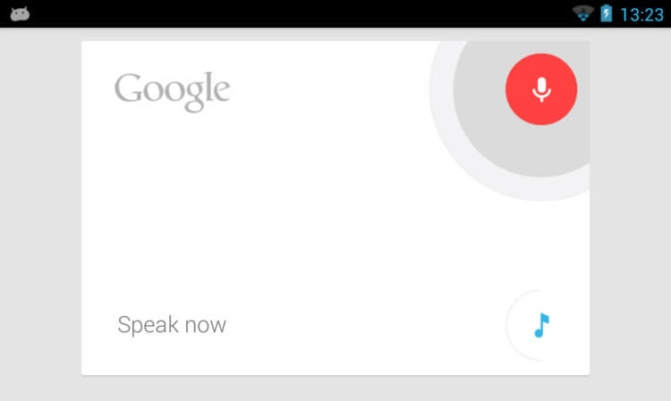 Google Now voice commands