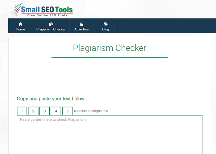 smallseotools.com screenshot