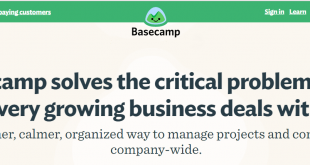 Basecamp, one of the best project management software