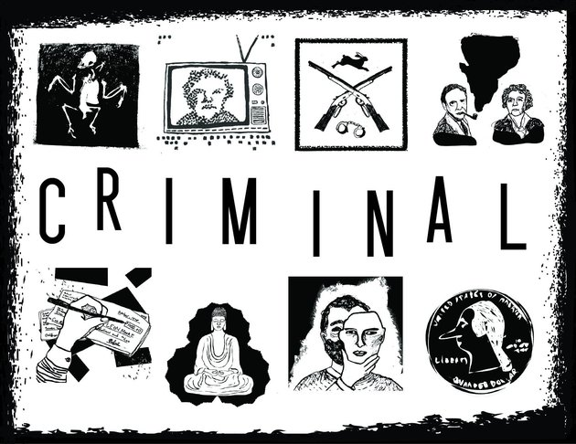 Criminal podcast logo