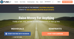 Fundly, one of the top sites like Go Fund Me that has helped users raise over $300 million