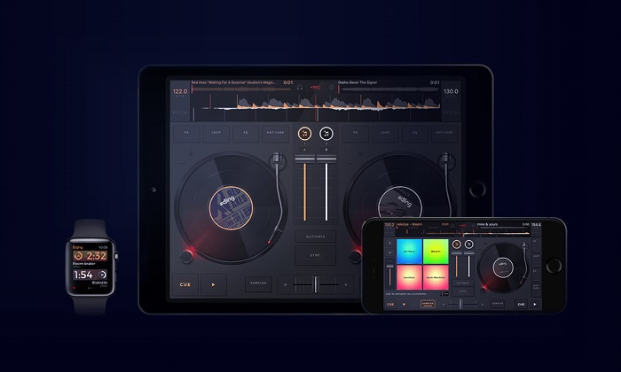 edjing Mix, best dj app for ipad