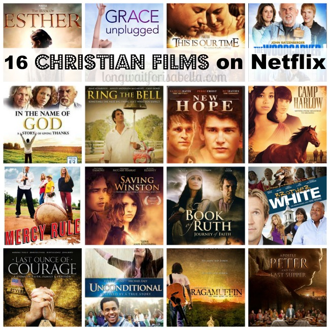 Christian movies on Netflix