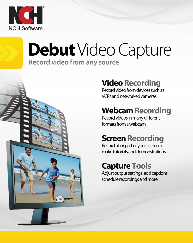 best webcam software  Debut Video Capture Software